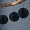 Thumbnail: Set of 3 Maddox Round Baubles - Ink