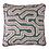 Thumbnail: Hand Printed Cushion - Indigo
