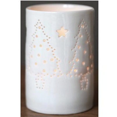 Maxi Christmas Trees  Tealight Holder
