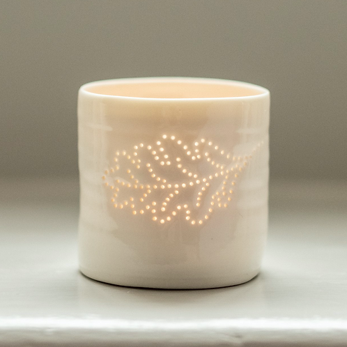 Oak Leaf Mini Tealight Holder