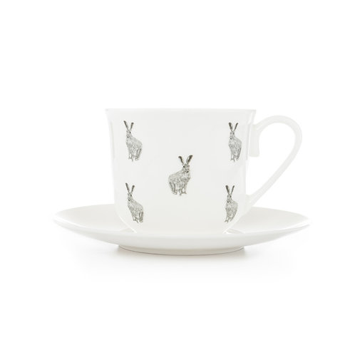 Teacup and Saucer - Hare
