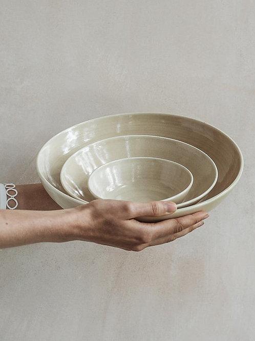 Serving Bowl Set - Oatmeal