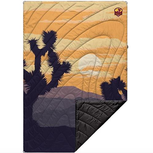 Printed Puffy Blanket - Joshua Tree