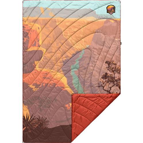 Printed Puffy Blanket - Grand Canyon