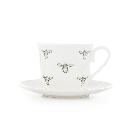 Teacup and Saucer - Bee