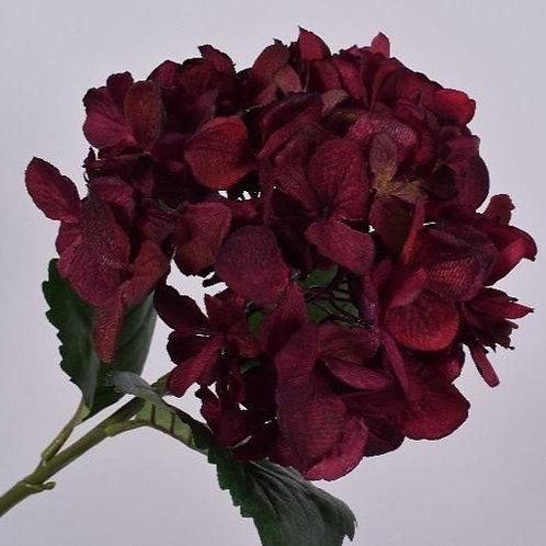 Hydrangea Stem - Burgundy