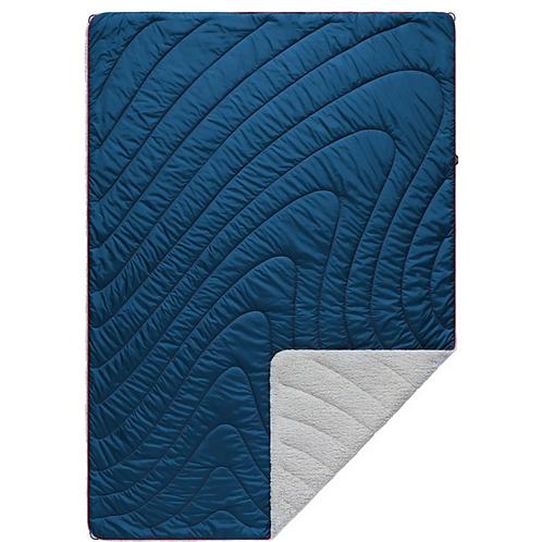 Sherpa Puffy Blanket - Deepwater
