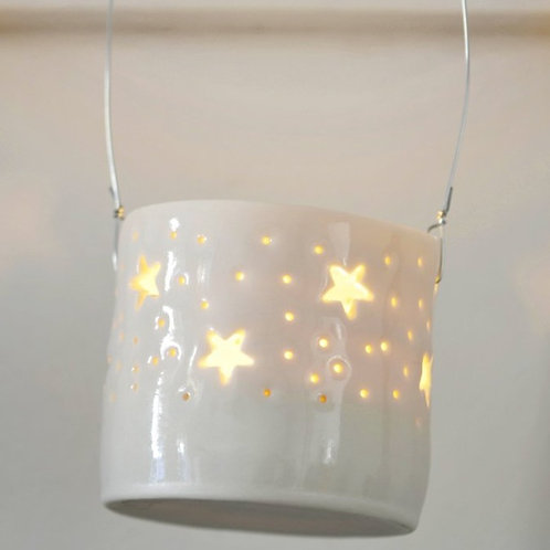 Stars Hanging Mini Tealight holder