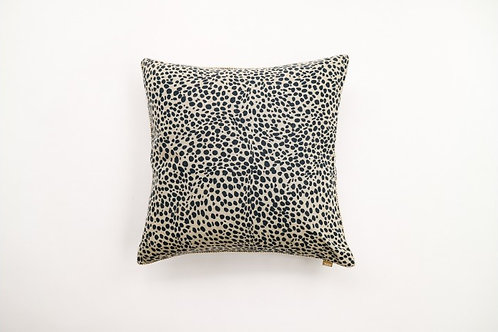 Animal Print Cushion Navy Blue