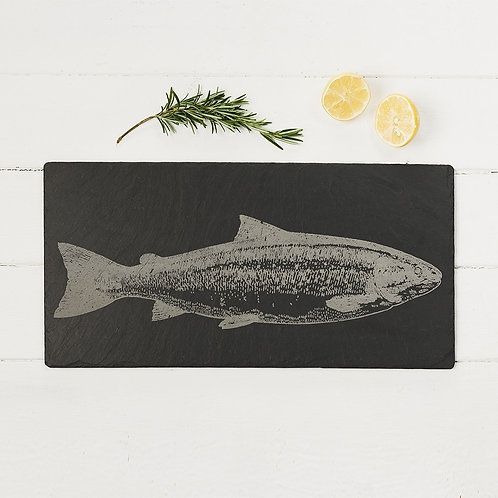 Salmon Slate Table Runner