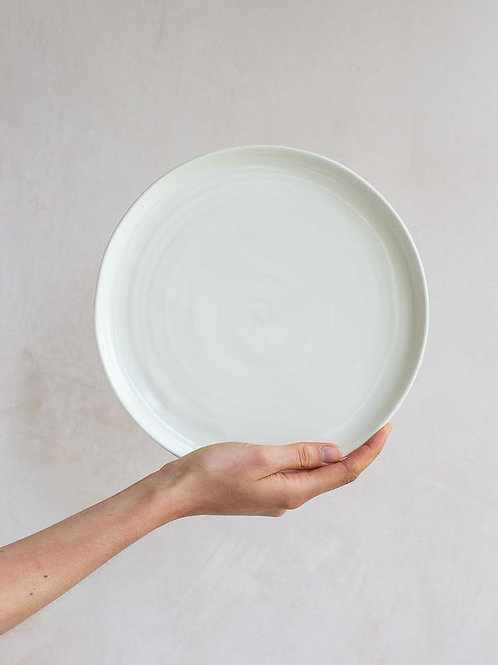 Large Plate - Milk