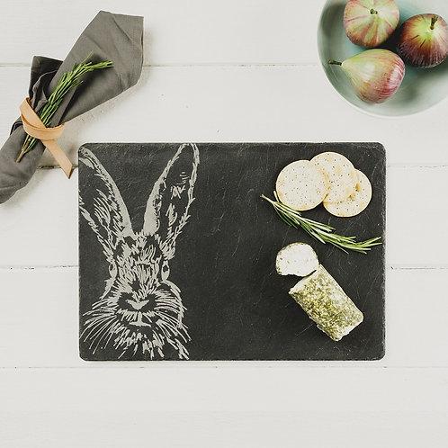 Hare Slate Cheese Board