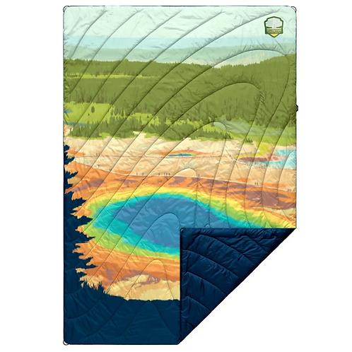 Printed Puffy Blanket - Yellowstone
