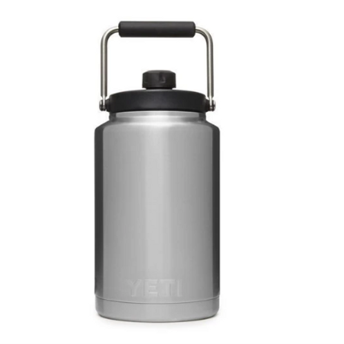 Rambler One Gallon Jug - Stainless Steel