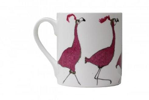 Friday Night Flamingos Mug