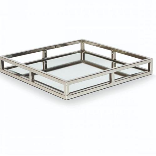 Medium Square Mirror Cut Out Tray