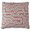 Thumbnail: Hand Printed Cushion - Maze Pink