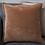 Thumbnail: Velvet Cushion - Soft Rust