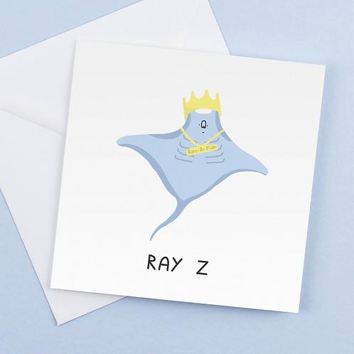 Ray Z Card