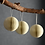 Thumbnail: Set of 3 Maddox Round Baubles - Warm White