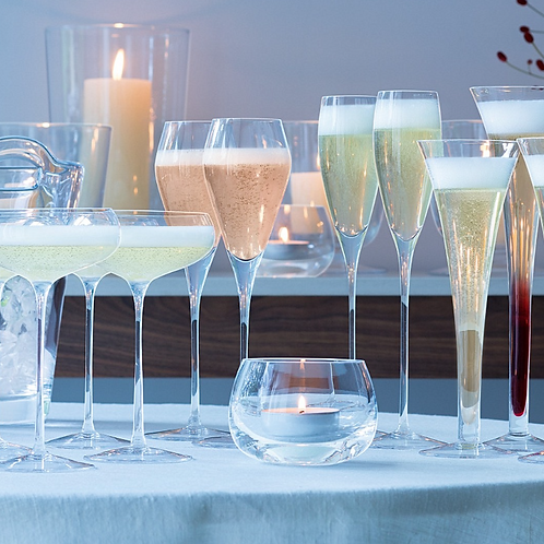 Short Champagne Flutes - Set of 4
