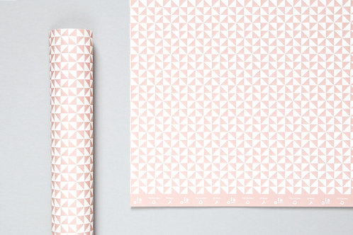 Kaffe Print Sheet Wrap Clay Pink