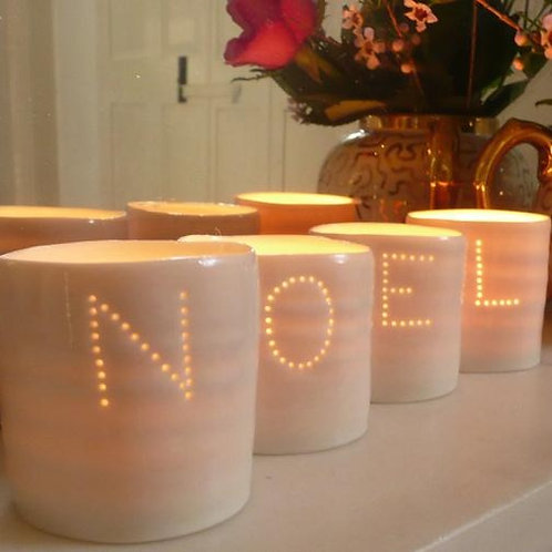 Noel Mini Tealight Holder set