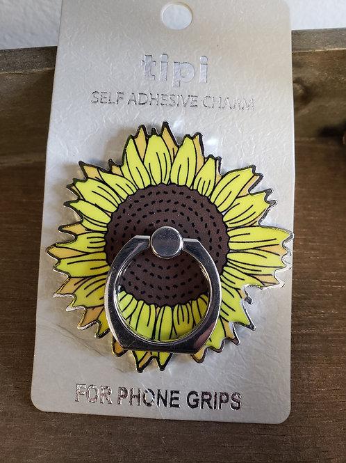 Sunflower Phone Finger Grip