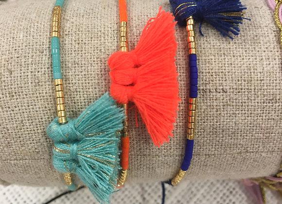 Bracelet Romy pompons