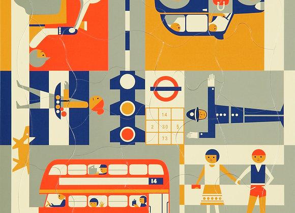 Puzzle Design, Londres - Blanc Bohème