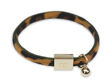 Bracelet élastique léopard