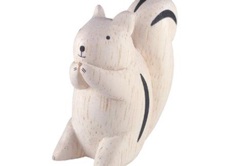 Ecureuil en bois - T-lab Pole Pole