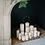 Décoration de bougies, Noël 2020