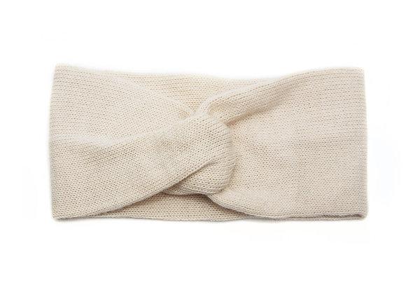 Headband Beige en Alpaga