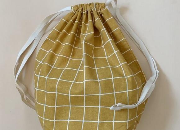 Grans sac réutilisable et lavable - Blanc Bohème