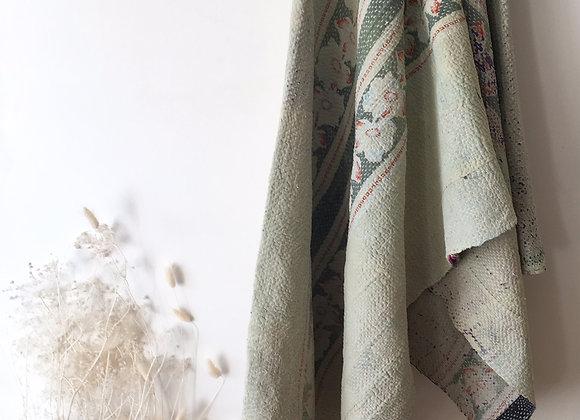 Couvre-lit en coton vintage