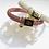Bracelet Blush élastique - Blanc Bohème