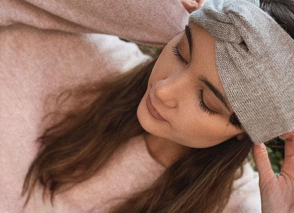 bandeau en laine d'alpaga
