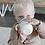Gobelet d'apprentissage beige - Blanc Bohème