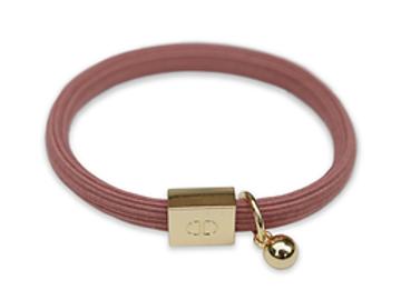 Bracelet vieux rose - Blanc Bohème
