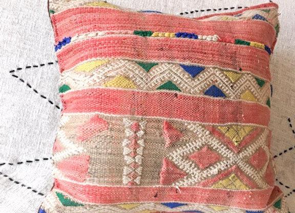 Coussin en kilim vintage