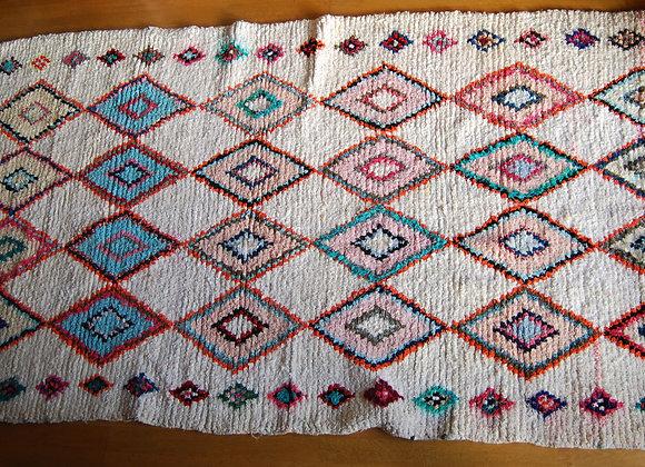 Tapis marocain coloré
