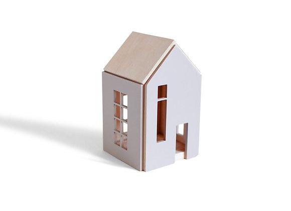 Maison de poupée en bois aimanté - Sélection Blanc Bohème