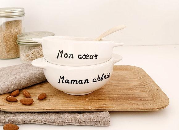 Bol Breton: Maman Chérie, Mère-veilleuse, Jolie Maman, Maman, Sweet Home