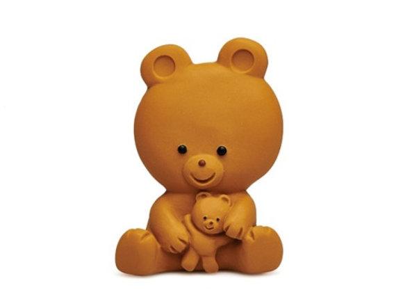 Maman Ours et son bébé - Jouet de bain - blanc Bohème
