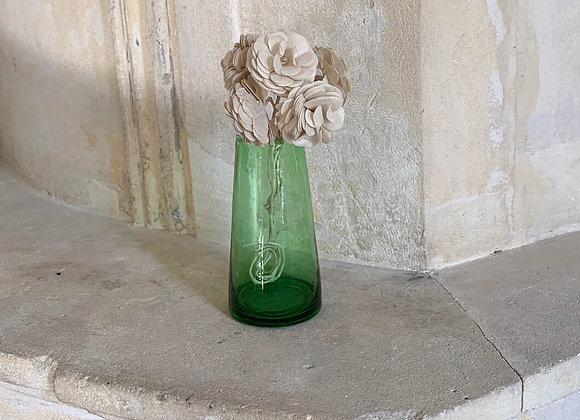 Mini vase beldi vert foncé
