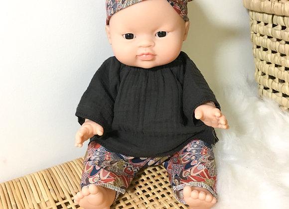 Ensemble Liberty pour poupée Minikane