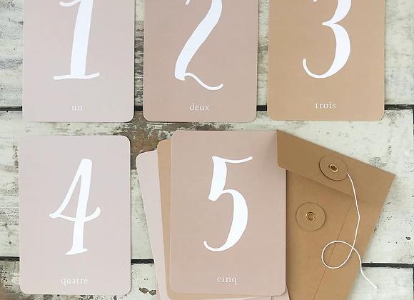 Cartes étapes roses - Cinq Mai pour Blanc Bohème