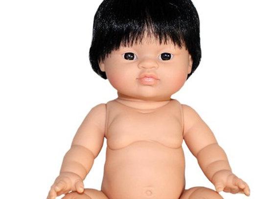 Poupée Paola Reina garçon Asiatique yeux foncés, Minikane