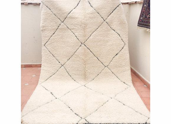 Tapis marocain, en laine de haute qualité